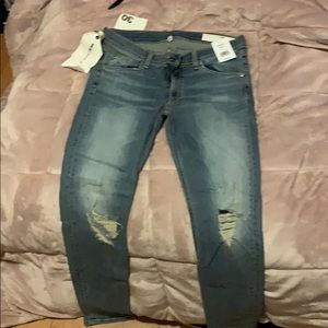 Rag & bone ripped skinny jeans